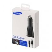 Car Charger Samsung ECA-U21CBEGSTD with Detachable Cable Micro USB 10W 2000mAh
