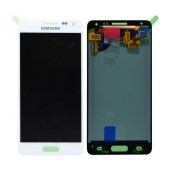 Original LCD & Digitizer Samsung SM-G850F Galaxy Alpha White GH97-16386D