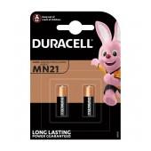 Alkaline Battery Duracell MN21 size 23A/V23GA/LRV08/8LR932 12V Psc. 2