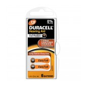 Hearing Aid Batteries Duracell A13 Zinc Air 1,4V Pcs. 6