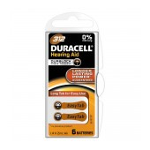 Hearing Aid Batteries Duracell A312 Zinc Air 1,4V Pcs. 6