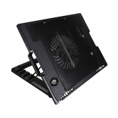 Laptop Cooler Mobilis CP140 with Adjustable Angle Stand Black for Netbook up to 17
