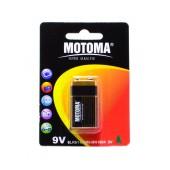 Battery Super Alkaline Motoma 6LR61 size 9V Psc. 1