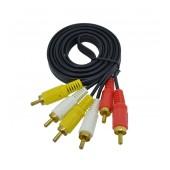 Audio Cable Jasper 3 x RCA M/M 1.5m