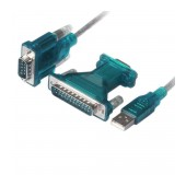 Data Cable Jasper Usb 2.0 to Serial 9/25 UA0042A