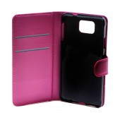 Book Case Ancus Teneo for Samsung SM-G850F Galaxy Alpha Fuchsia
