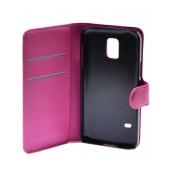 Book Case Ancus Teneo for Samsung SM-G800F Galaxy S5 Mini Fuchsia