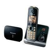 Dect/Gap Panasonic KX-TG6761GB Long Range Silver - Black with Repeater, Anwering Machine