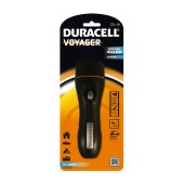 Duracell Voyager Black Flashlight 5 Led Waterproof CL-10 / 20 Lumens/Distance 20m