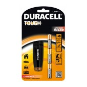 Duracell Tough Compact Aluminium Black Flashlight 6 Led Super-Clear Waterproof CMP-1 / 37 Lumens/Distance 10m