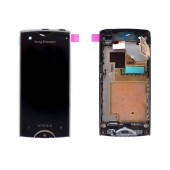 Original LCD & Digitizer for S.Ericsson Xperia Ray Black with Frame 1252-6825