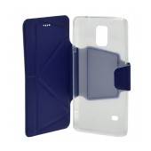 Book Case Ancus Classic for Samsung SM-N910F Galaxy Note 4 Blue