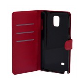 Book Case Ancus Teneo for Samsung SM-N910F Galaxy Note 4 Red