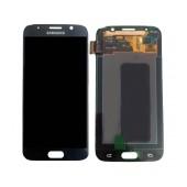 Original LCD & Digitizer Samsung SM-G920F Galaxy S6 with Tape Black GH97-17260A
