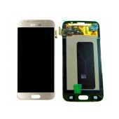 Original LCD & Digitizer Samsung SM-G920F Galaxy S6 with Tape Gold GH97-17260C