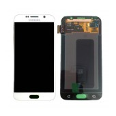 Original LCD & Digitizer Samsung SM-G920F Galaxy S6 with Tape White GH97-17260B