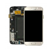 Original LCD & Digitizer Samsung SM-G925F Galaxy S6 Edge Gold GH97-17162C