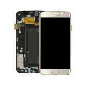 Original LCD & Digitizer Samsung SM-G925F Galaxy S6 Edge Gold GH97-17162C