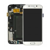 Original LCD & Digitizer Samsung SM-G925F Galaxy S6 Edge White GH97-17162B