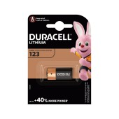 Battery Lithium Ultra Photo Duracell CR123A 3V Pcs. 1