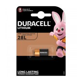 Battery Duracell B Lithium Long Lasting Power 28L / PX28L 6V Pcs. 1