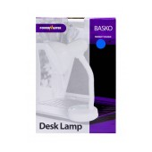 Office Lamp Powermaster Basko with Flexible Arm Blue