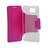 Book Case Ancus Classic for Samsung SM-G850F Galaxy Alpha Fuchsia