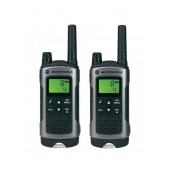 Walkie Talkie Motorola PMR T80 Black with Led Torch and Hands Free Connector   Coverage 10 km