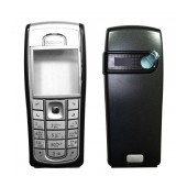 Front Cover Nokia 6230i Black OEM Type A