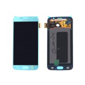 Original LCD & Digitizer Samsung SM-G920F Galaxy S6 with Tape Blue GH97-17260D