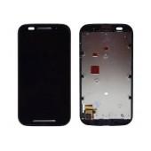 Original LCD with Digitizer for Motorola Moto E XT1021 Black with Frame