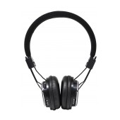 Headphone Stereo NIA Foldable NIA-1682 3.5 mm Black with FM Radio and MP3 Player with Micro SD MC