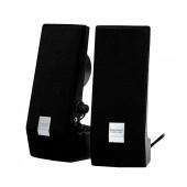 Speaker Stereo Camac CMK-858 1Wx2 RMS Black with USB 70x74x180mm