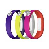 Sony SmartBand Wrist Strap SWR110 Purple, Yellow, Pink