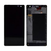 Original LCD & Digitizer Nokia Lumia 730 with OEM Frame