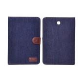 Book Case Ancus Teneo Fabric for Samsung SM-T715 Galaxy Tab S2 8.0 Dark Blue