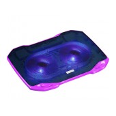 Laptop Cooler Mobilis Popu Pine F2 Purple for Laptop up to 17