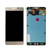 Original LCD & Digitizer Samsung SM-A700F Galaxy A7 with Tape Gold GH97-16922F