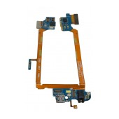 Flex Cable LG G2 D802 with Connector I/O, Microphone and Jack Connector OEM Type A