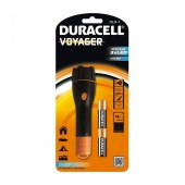 Duracell Voyager Black Flashlight 3 Led Waterproof CLX-1 / 15 Lumens/Distance 15m