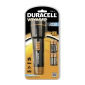 Duracell Voyager Black Flashlight 7 Led STL-7 / 22 Lumens/Distance 23m