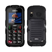 Maxcom MM910 (Dual Sim) Water-dust proof IP67 with Torch, FM Radio (Works without Handsfre) and Camera Black