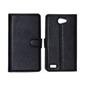 Book Case Ancus Teneo for LG L Bello II X150 Black