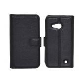 Book Case Ancus Teneo TPU for Microsoft Lumia 550 Black
