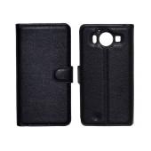 Book Case Ancus Teneo TPU for Microsoft Lumia 950/950 Dual Sim Black