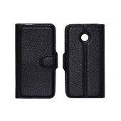Book Case Ancus Teneo TPU for Huawei Ascend Y330 Black