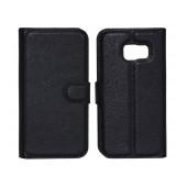 Book Case Ancus Teneo TPU for Samsung SM-G925F Galaxy S6 Edge Black