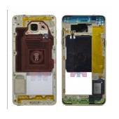 Middle Frame Cover Samsung SM-A510F Galaxy A5 (2016) with Buzzer and On/Off. Volume Buttons Gold Original GH96-09392A