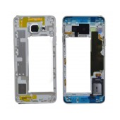 Middle Frame Cover Samsung SM-A310F Galaxy A3 (2016) with Buzzer and On/Off, Volume Button White Original GH97-18074C