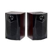 Speaker Stereo Nakai SE-136 3Wx2 RMS with USB and SD Card Input Black 17x10.5x12cm